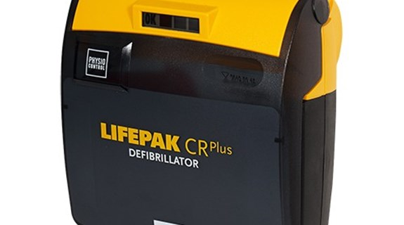 Hjertestarteren Lifepack CRPluss